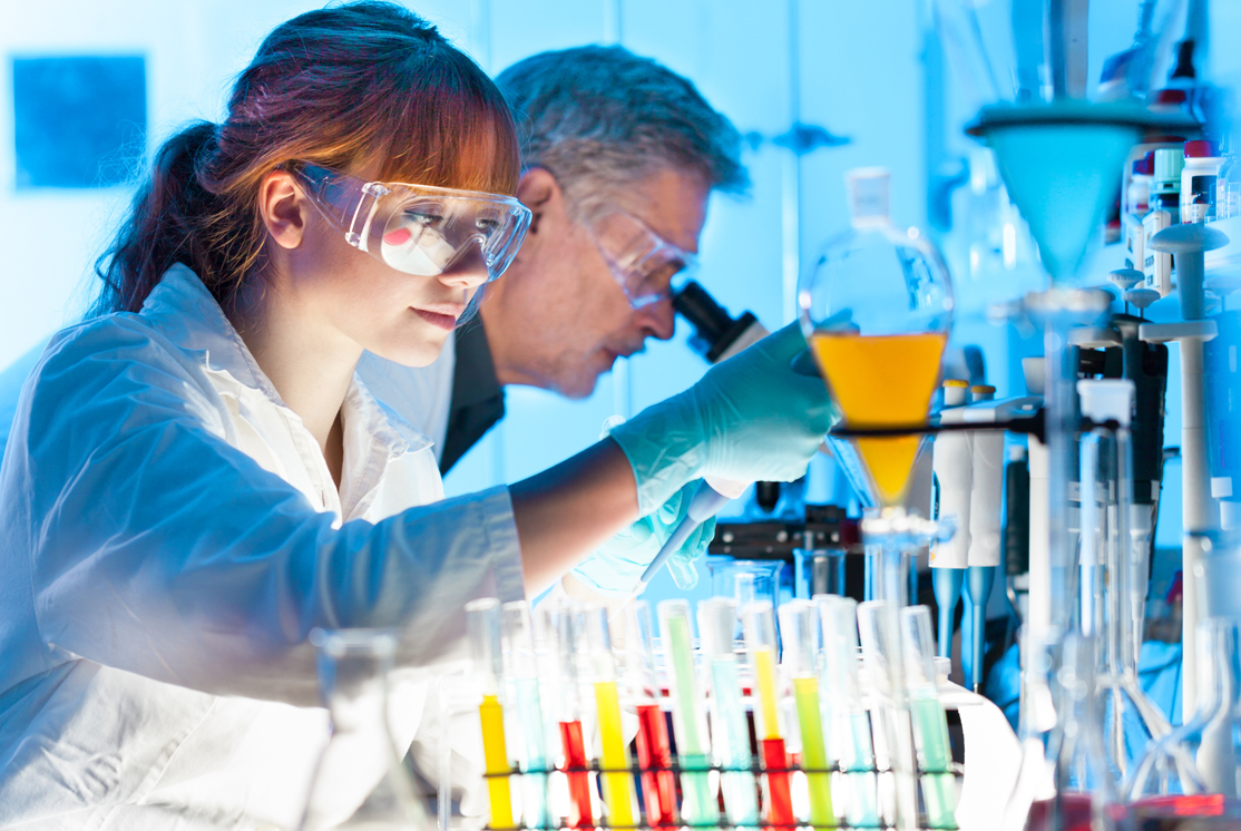 Biotech scientist working on drug discovery - Sheer Velocity Healthcare Recruiters